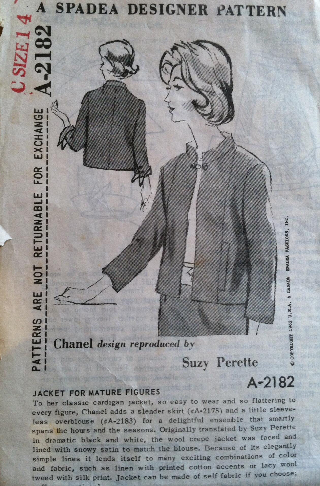 Chanel Jacket 4 Jet Set Sewing