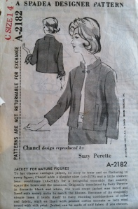 1962 Chanel pattern released by Spadea