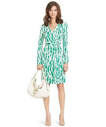 aef3ce8f4d7f5 DVF's wrap dress design is now celebrating it's 40th anniversary.  http://www.harpersbazaar.com/fashion/fashion-designers/dvf-wrap-dress-0214  I was happy to ...