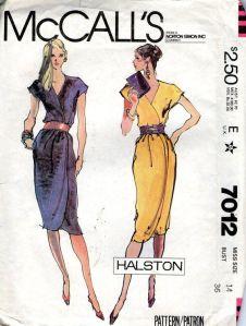 Halston pattern #1