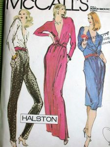 Halston pattern #2