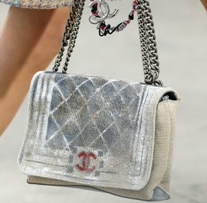 Chanel canvas bag
