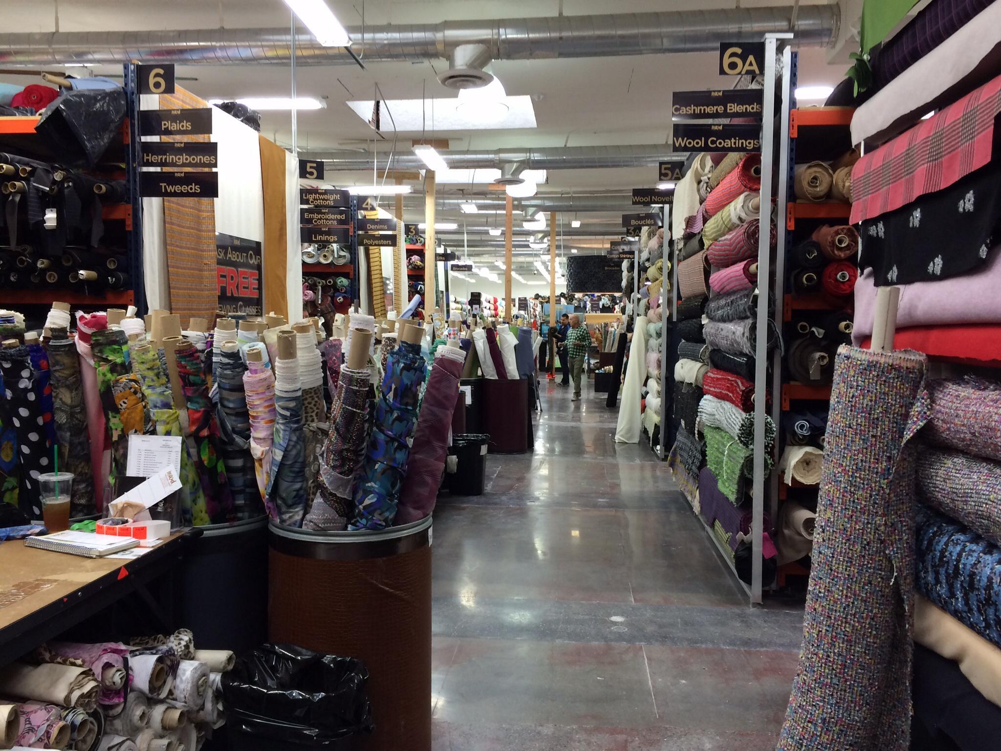 Mood Fabrics Los Angeles | Jet Set Sewing