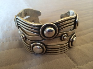 "William Spratling ""River of Life"" cuff"