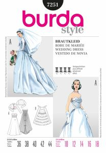 Burda wedding dress