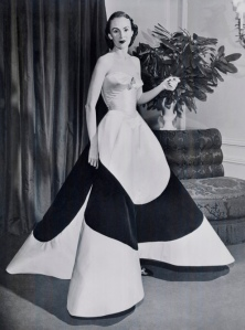 Charles James Four Leaf Clover Gown