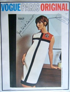 Mondrian dress pattern