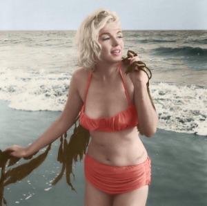 Monroe in Bikini