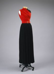 Claire McCardell evening dress