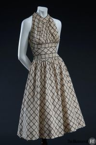McCardell windowpane dress