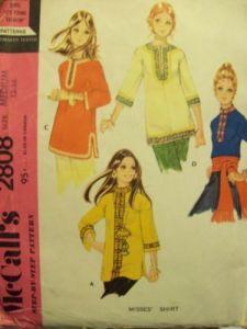 70s tunic pattern 2