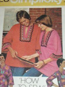 70s tunic pattern