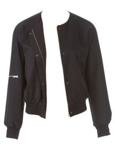 Burda collarless varsity jacket pattern