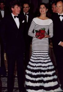 Princess Caroline in Gaultier