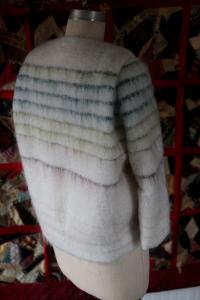 Claudine's jacket back