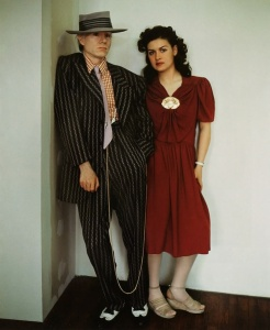 Paloma Picasso and Warhol