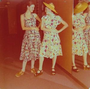 Wearing vintage in '75