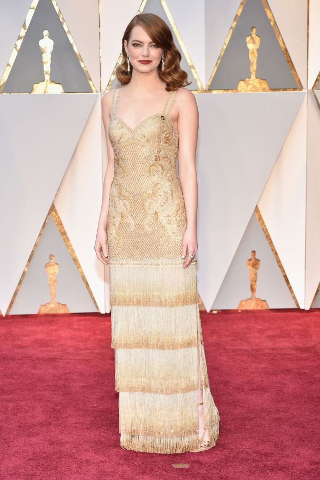 hbz-oscars-emma-stone Givenchy Couture